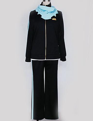povoljno Anime cosplay-Inspirirana Noragami Cosplay Anime Cosplay nošnje Japanski Cosplay Suits Jednobojni Top / Hlače / More Accessories Za Muškarci / Žene