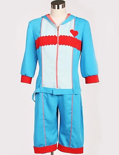 povoljno Anime cosplay-Inspirirana Poklade Cosplay Anime Cosplay nošnje Japanski Cosplay Suits Posebni dizajni Top / Hlače / Kostim Za Muškarci / Žene