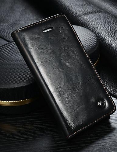 Θήκη Za Apple iPhone SE / 5s / iPhone 5 Novčanik / Utor za kartice / sa stalkom Korice Jednobojni Tvrdo PU koža