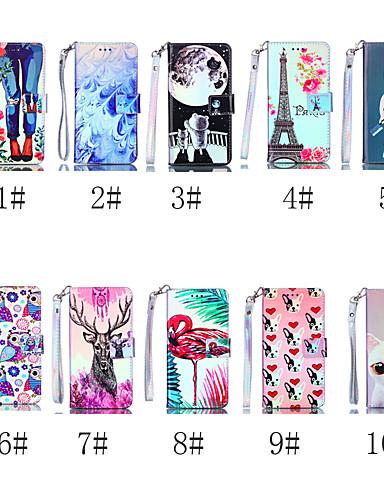 Θήκη Za Samsung Galaxy S9 / S9 Plus / S8 Plus Novčanik / Utor za kartice / sa stalkom Korice Mačka / Pas / Flamingo Tvrdo PU koža