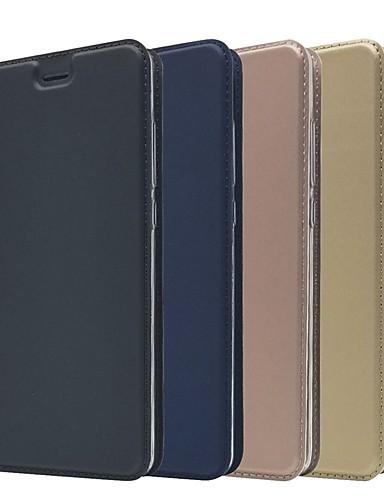 Θήκη Za Nokia Nokia 9 / Nokia 8 / Nokia 7 Utor za kartice / sa stalkom / Zaokret Korice Jednobojni Tvrdo PU koža / Nokia 6