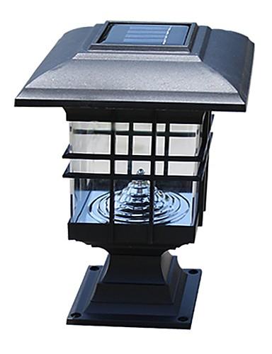 preiswerte Briefkasten Lampen-Solarpanel-Lampe Solarlaternenpfahlspalte Scheinwerfer Zaunlampen Wandlampe Scheinwerfer führte Solarlichter im Freiengartenlichter