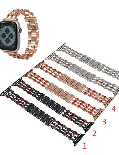 Pogledajte Band za Apple Watch Series 5/4/3/2/1 Apple Sportski remen / Dizajn nakita Nehrđajući čelik Traka za ruku