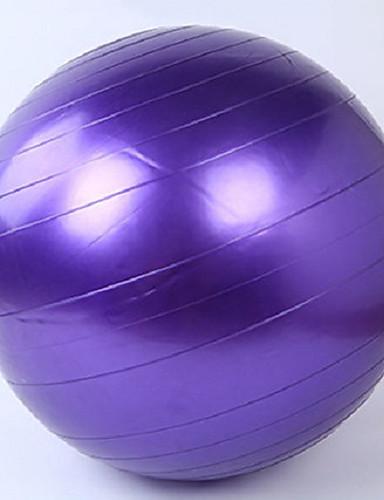 povoljno Vježbanje, fitness i joga-95cm Lopta za vježbu / lopta za jogu Profesionalna, Sa zaštitom od eksplozije PVC podrška 500 kg S Pumpa za stopalo Fizikalna terapija, Trening ravnoteže, Stabilnost Za Yoga / Sposobnost / Gimnastika