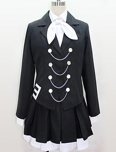 povoljno Anime cosplay-Inspirirana Vocaloid Cosplay Anime Cosplay nošnje Japanski Cosplay Suits Black & White / Suvremeno Kravata / Bluza / Top Za Muškarci / Žene