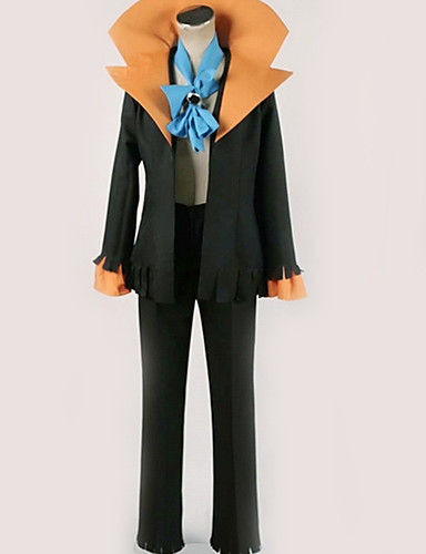 povoljno Maske i kostimi-Inspirirana One Piece Potok Anime Cosplay nošnje Japanski Cosplay Suits Jednobojni Top / Hlače / More Accessories Za Muškarci / Žene