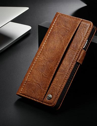 Θήκη Za Apple iPhone 8 Plus / iPhone 7 Plus Novčanik / Utor za kartice / sa stalkom Korice Jednobojni Tvrdo PU koža