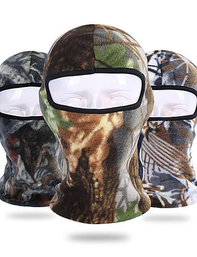 povoljno Odjeća za vožnju biciklom-Face Mask UV otporan Prozračnost Ovlaživanje Brzo kemijska Bicikl / Biciklizam Siva Zelena / crna Tamno zelena za Muškarci Žene Odrasli Vježbanje na otvorenom Biljke / Mikroelastično
