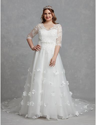 Cheap Plus Size Wedding Dresses Online   Plus Size Wedding ...