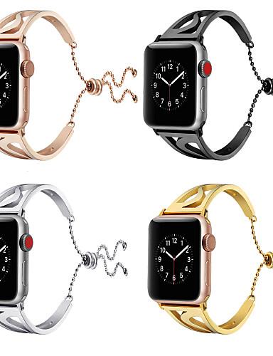 Pogledajte Band za Apple Watch Series 5/4/3/2/1 Apple Leptir Buckle Nehrđajući čelik Traka za ruku