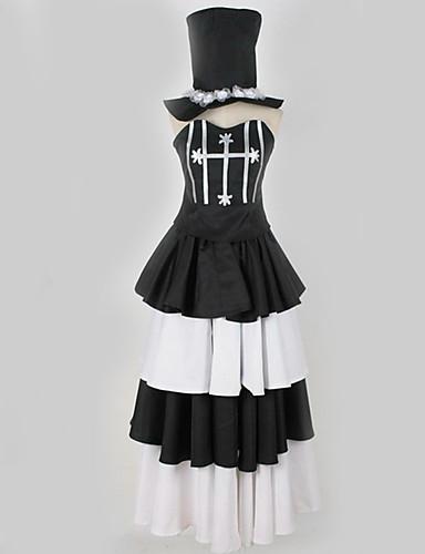 povoljno Maske i kostimi-Inspirirana Jedan komad · dvije godine nakon verzije Perona Anime Cosplay nošnje Japanski Cosplay Suits Jednostavan / Posebni dizajni Haljina / Kapa Za Muškarci / Žene