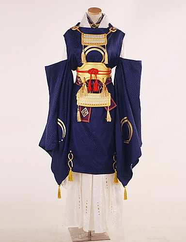 povoljno Anime cosplay-Inspirirana Touken Ranbu Cosplay Anime Cosplay nošnje Japanski Cosplay Suits Posebni dizajni Top / Hlače / Rukavice Za Muškarci / Žene