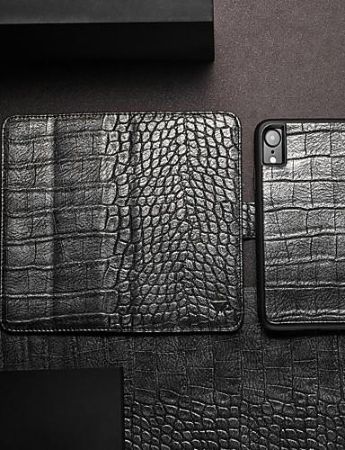 Θήκη Za Apple iPhone XS / iPhone XR / iPhone XS Max Novčanik / Utor za kartice / sa stalkom Korice Jednobojni Tvrdo PU koža