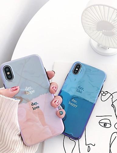 Θήκη Za Apple iPhone XS Max Ultra tanko / Uzorak Stražnja maska Riječ / izreka Mekano TPU
