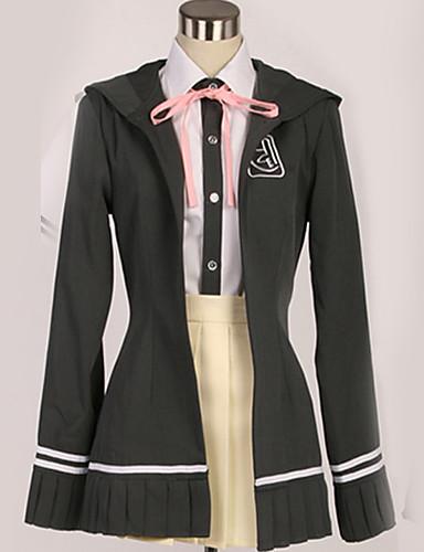 povoljno Anime cosplay-Inspirirana Danganronpa Chiaki Nanami Anime Cosplay nošnje Japanski Cosplay Suits Uglađeni / Suvremeno Kaput / Bluza / Top Za Muškarci / Žene