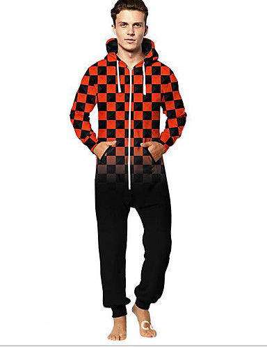 184bedd945a Men s Daily Red Jumpsuit