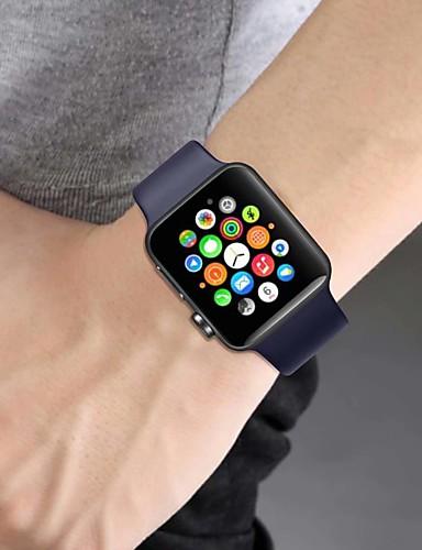 Pogledajte Band za Apple Watch Series 5/4/3/2/1 Apple Sportski remen Silikon Traka za ruku