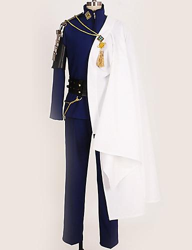 povoljno Anime cosplay-Inspirirana Touken Ranbu Cosplay Anime Cosplay nošnje Japanski Cosplay Suits Posebni dizajni Kaput / Bluza / Top Za Muškarci / Žene