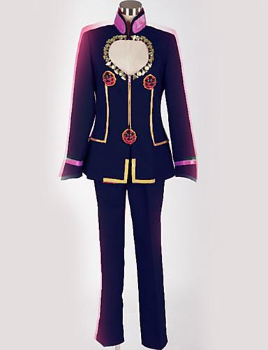povoljno Anime cosplay-Inspirirana JoJo je Bizarno Avantura Giorno Giovanna / JoJo Anime Cosplay nošnje Japanski Cosplay Suits Posebni dizajni Top / Hlače / More Accessories Za Muškarci / Žene / Kostim / Kostim