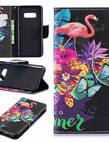Θήκη Za Samsung Galaxy S9 / S9 Plus / S8 Plus Novčanik / Utor za kartice / sa stalkom Korice Flamingo Tvrdo PU koža