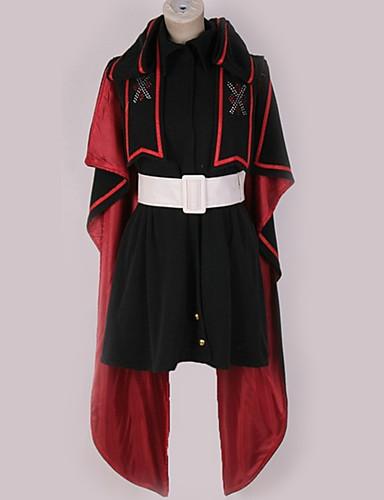 povoljno Anime cosplay-Inspirirana Macross Frontier Cosplay Anime Cosplay nošnje Japanski Cosplay Suits Posebni dizajni Haljina / Plašt / More Accessories Za Muškarci / Žene