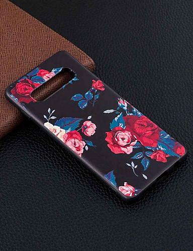 Θήκη Za Samsung Galaxy S9 / S9 Plus / Galaxy S10 Uzorak Stražnja maska Cvijet Mekano TPU