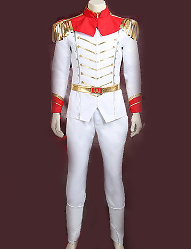 povoljno Anime cosplay-Inspirirana Persona 5 Goro Akechi Anime Cosplay nošnje Japanski Cosplay Suits Posebni dizajni Top / Hlače / Plašt Za Muškarci / Žene