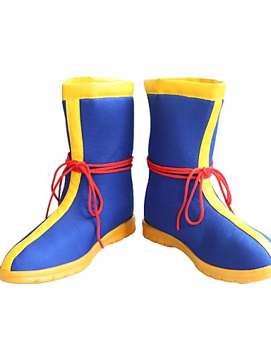 povoljno Anime cosplay cipele-Cosplay Shoes Dragon Ball Son Goku / Cookie Anime Anime Cosplay Shoes Koža / Terilen / Guma Sve Halloween kostime