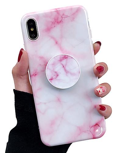 Θήκη Za Apple iPhone XS / iPhone XR / iPhone XS Max sa stalkom / IMD Stražnja maska Mramor Mekano TPU