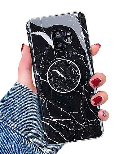 Θήκη Za Samsung Galaxy S9 / S9 Plus / S8 Plus sa stalkom / IMD Stražnja maska Mramor Mekano TPU