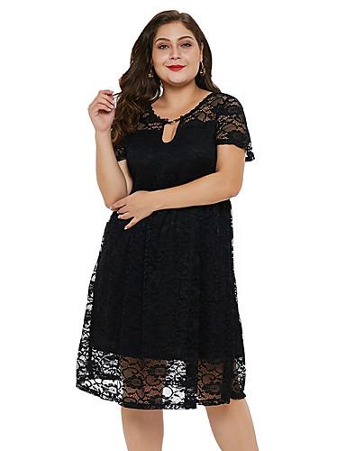 Damen Grundlegend Skinny Das kleine Schwarze Kleid ...