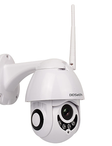 preiswerte Schutz & Sicherheit-Didseth® 1080p 2MP WIFI im Freien PTZ-Kamera Dome IP-Kamera Wireless Security Camera Unterstützung 128 GB 3,6 mm Objektiv Zwei-Wege-Audio IP66 wasserdicht OnVIF-Protokoll Bewegungserkennung