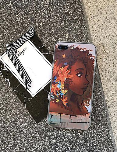 Θήκη Za Apple iPhone XS / iPhone XR / iPhone XS Max Uzorak Stražnja maska Seksi dama / Crtani film Mekano TPU