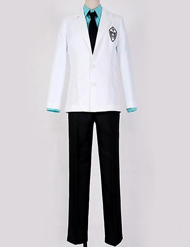 povoljno Anime cosplay-Inspirirana Kuroko nema Košarica Cosplay Anime Cosplay nošnje Japanski School Uniforms Uglađeni / Suvremeno Kaput / Bluza / Top Za Muškarci / Žene