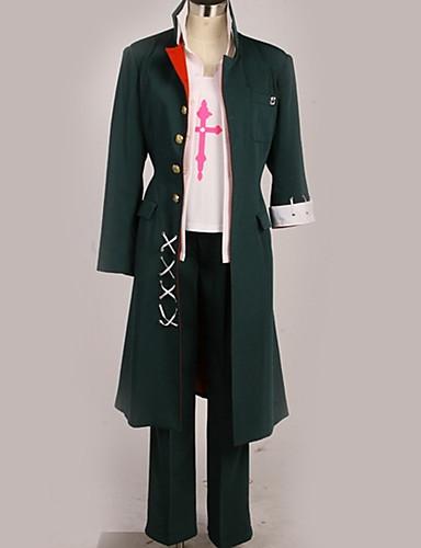 povoljno Anime cosplay-Inspirirana Danganronpa Mahiru Koizumi / Cosplay Anime Cosplay nošnje Japanski Cosplay Suits Suvremeno Kaput / Top / Hlače Za Muškarci / Žene