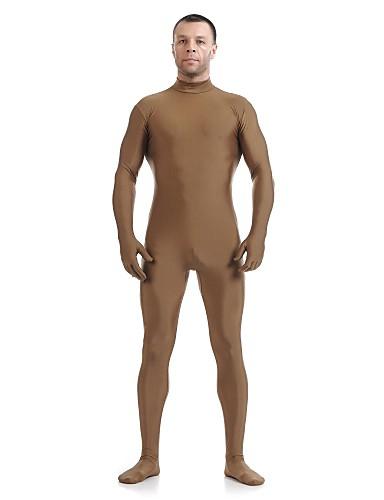 povoljno Maske i kostimi-Zentai odijela Odijelo za kožu Ninja Odrasli Spandex Lycra Cosplay Nošnje Spol Muškarci Žene Zelen / Obala / Red Jednobojni Halloween / Visoka elastičnost
