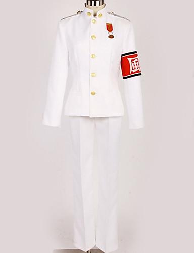 povoljno Anime cosplay-Inspirirana Danganronpa Kiyotaka Ishimaru Anime Cosplay nošnje Japanski Cosplay Suits Uglađeni / Suvremeno Top / Hlače / More Accessories Za Muškarci / Žene