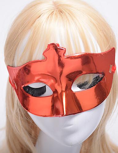 preiswerte Faschingskostüme-Maske Venezianische Maske Maskenmaske Inspiriert von Prinzessin Cosplay Schwarz Azurblau Party / Abends Retro Halloween Karneval Maskerade Erwachsene Damen Weiblich / Halbe Maske