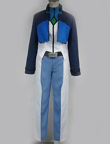 povoljno Anime cosplay-Inspirirana Gundam Cosplay Anime Cosplay nošnje Japanski Cosplay Suits Posebni dizajni Top / Hlače / Pojas Za Muškarci / Žene