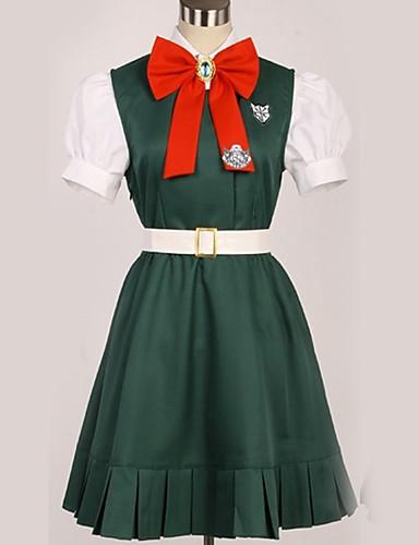 povoljno Maske i kostimi-Inspirirana Danganronpa Sonia Nevermind / Princeza Anime Cosplay nošnje Japanski Cosplay Suits Uglađeni / Suvremeno Kravata / Top / Suknja Za Muškarci / Žene