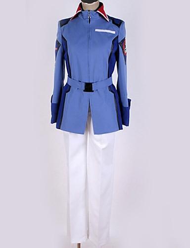 povoljno Anime cosplay-Inspirirana Gundam Cosplay Anime Cosplay nošnje Japanski Cosplay Suits Suvremeno Top / Hlače / More Accessories Za Muškarci / Žene