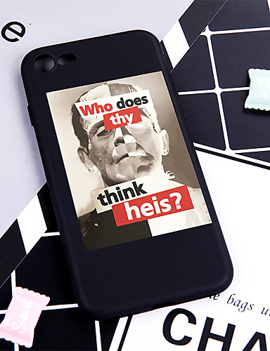Θήκη Za Apple iPhone XS / iPhone XR / iPhone XS Max Uzorak Stražnja maska Riječ / izreka Mekano TPU