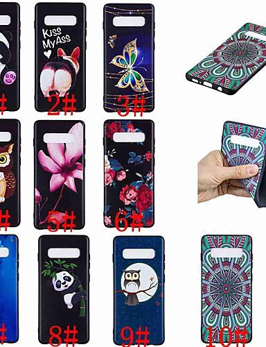 Θήκη Za Samsung Galaxy S9 / S9 Plus / S8 Plus Uzorak Stražnja maska Rukav leptir / Sova / Panda Mekano TPU