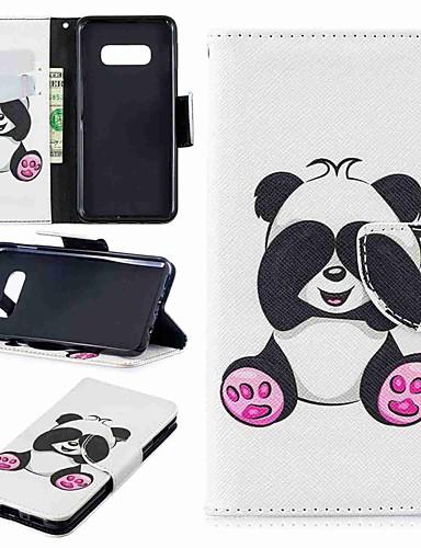 Θήκη Za Samsung Galaxy S9 / S9 Plus / S8 Plus Novčanik / Utor za kartice / sa stalkom Korice Panda Tvrdo PU koža