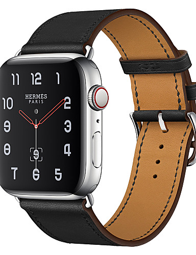 Watch Band varten Apple Watch Series 4/3/2/1 Apple Business Band Aito nahka Rannehihna