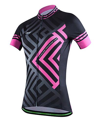 povoljno Biciklističke majice-cheji® Žene Kratkih rukava Biciklistička majica Crn Blue + Pink Pink Bicikl Biciklistička majica Majice Brdski biciklizam biciklom na cesti Prozračnost Sportski Poliester Odjeća
