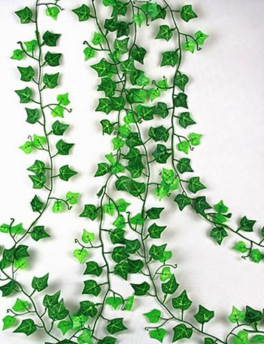 preiswerte Schlafzimmer-Künstliche Blumen 1 Ast Wandbefestigung Suspendiert Hochzeit Pastoralen Stil Pflanzen Wand-Blumen