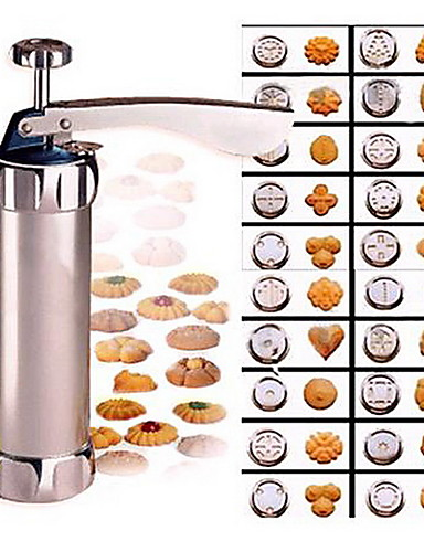 cheap decorating tip sets-Cookies Press Cutter Baking Tools Cookie Biscuits Press Machine Bakeware