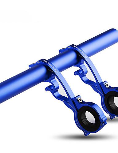 povoljno Ručke i lule volana-20-22.5 mm Produživač ručke za bicikl Prilagodljivo Otporno na klizanje Iphone Holder za Cestovni bicikl Mountain Bike Aluminijska legura Plava Red