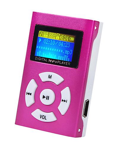 preiswerte Audio & Video für Ihr Zuhause-mini mp3 musik player lcd-bildschirm unterstützung 32 gb micro sd tf-karte sportart nagelneue art wiederaufladbar